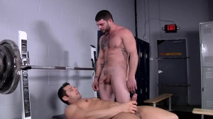 Comparing penis Size - Marcus Ruhl and Tony Paradise ass Hook up
