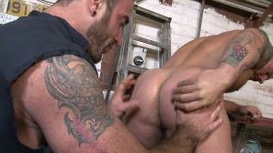 Late For Work - Spencer Reed, Alex Marte butthole stab