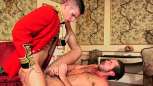 A Royal Fuckfest - Paul Walker & Mike De Marko anal Hump