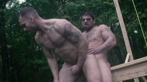 Battle Buddies - Ryan drills & Kit Cohen ass Hump