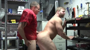 Janitor's Closet - Colby Jansen & Darin Silvers anal Hook up