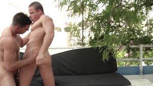 fellows In Ibiza - Paddy O'Brian and Tony Gys butthole job