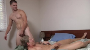 Blocking The Roommate - Jimmy Johnson with Brett Carter anal Hump