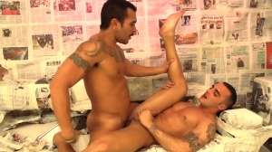 pursue The Light - Lucio Saints and Adrian Toledo anal Hook up