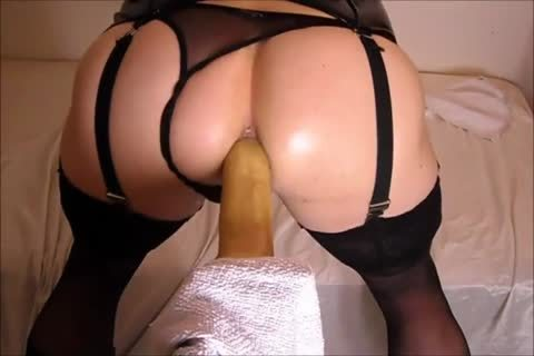 pounding My wazoo With A fake penis whilst In lingerie