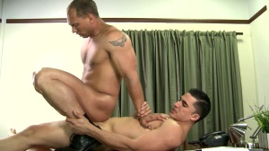 Paying The Debt - John Magnum & Topher Di Maggio ass screw