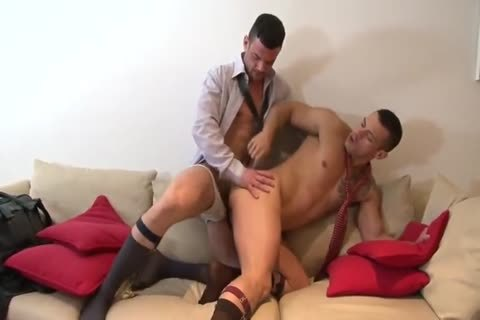 Spanish Hunks In Suits With large penises poke
