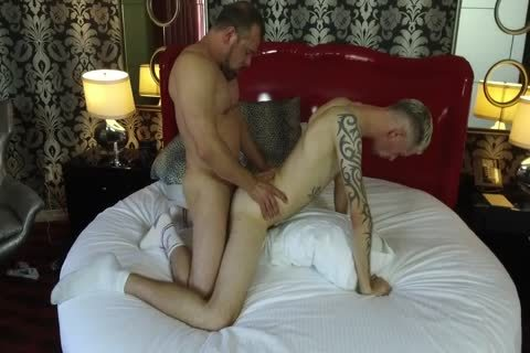Robert Rexton acquires boned By Muscle Daddies Max Sargent & Chance Caldwell