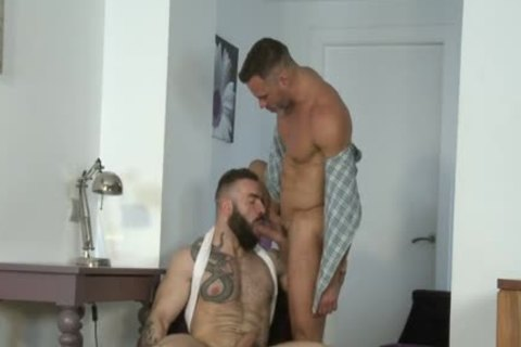 Manuel Skye & Max Hiltom fucking Each Other in nature's garb