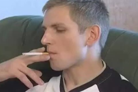 Smoking And charming Flip Flopping raw twinks