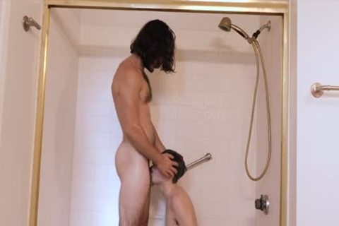 hairy lad bonks lad undressed In The bathroom