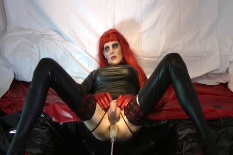 Redhead Sissy receives nailed With Chastity Belt