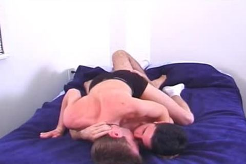 Two lascivious College men hammer In Their Dorm Room