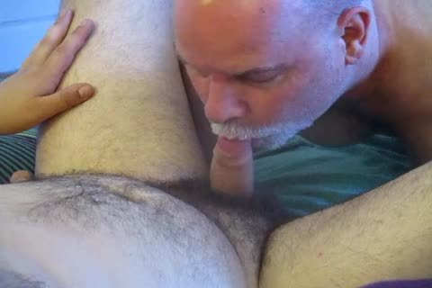 ambisexual Bear Cub's First bj-job To Completion.
