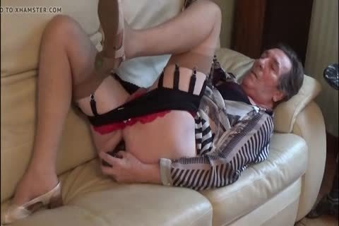 sheboy Transvestite lingerie Sounding ass vibrator 211