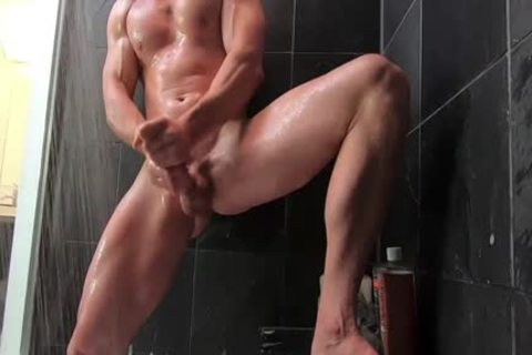 Johnny Jerks Off In The Shower