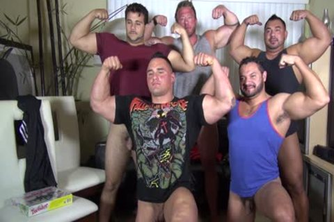 in nature's garb Party @ LATINO Muscle Bear abode - amateur joy W/ Aaron Bruiser