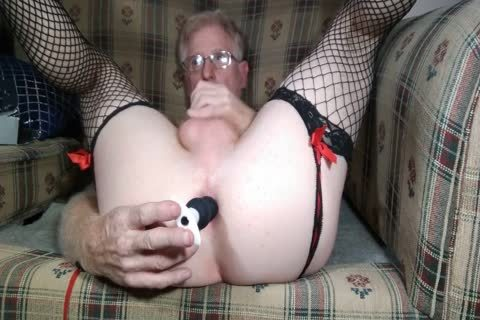 Fairly yummy Masturbation In Suspenders And anal Dp