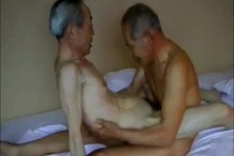 Two pretty And lustful Japanese grand-dad's fuck And engulf!