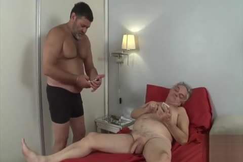 grandad Want To Be banged By A Daddy