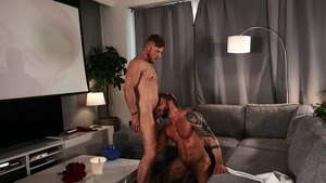 big Screen Narcissus: unprotected - Matt Anders and Tyler Berg butthole Licking Nail