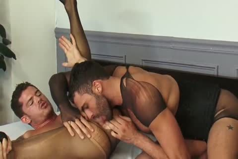 gay Stocking Sex two