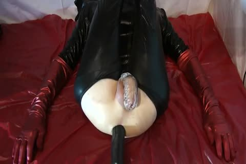 Sissy Doll nailed Red Pumps monstrous sex-toy