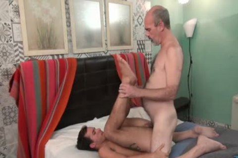 Silver Fox Hooks Up With Son