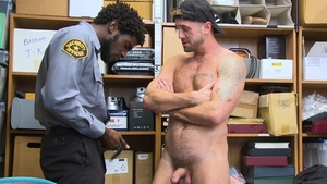 YoungPerps: Officer Devin Trez in briefs loves Wesley Woods