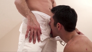 Missionary Boys: Wet Elder Ingles lusts swallow