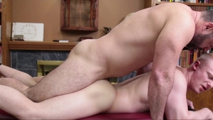 MissionaryBoys: Athletic Elder Peterson lusts nailed rough