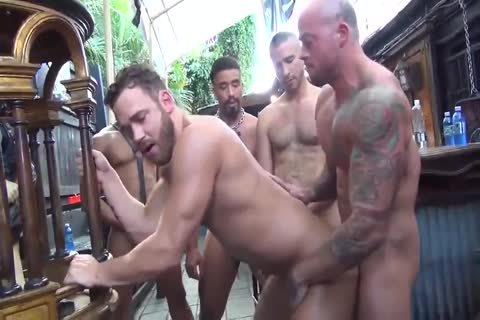 MusclePup Logan Moore acquires bunch fucked Barebacked pound