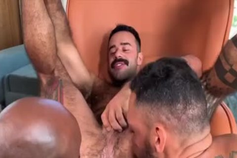 I'm A Fan Of His Way Of Engulfing And Being Bottom: Damn So kinky three-some