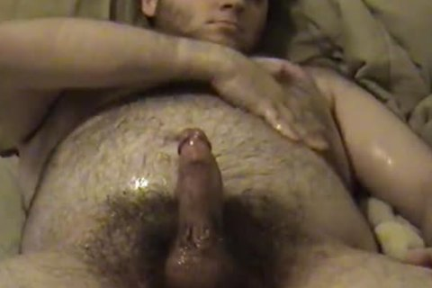jerking off with Baby Oil