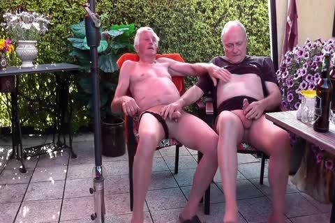 Games In hose & Pissing Off together In The Garden