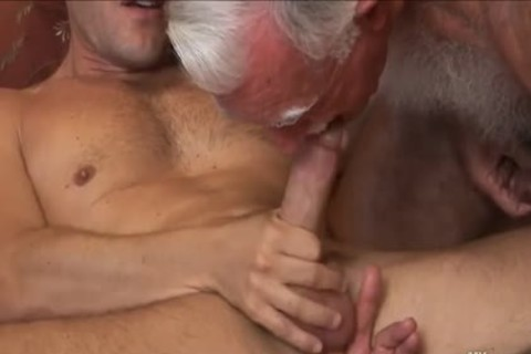 shaggy old man Mutual Masturbation With Younger Coworker