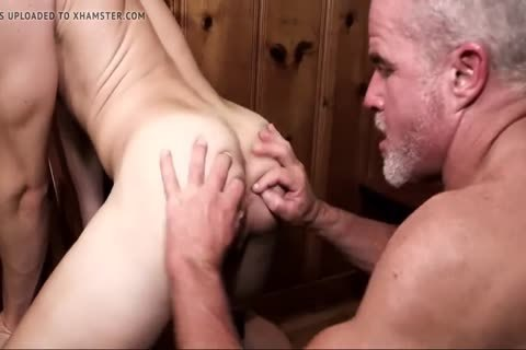 boys Have enjoyment With Step-daddy And Grampa