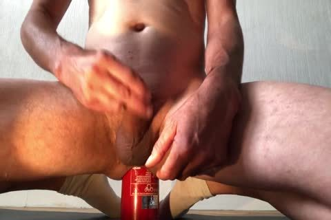 alluring Insertion extraordinary Bottle butthole With ejaculation