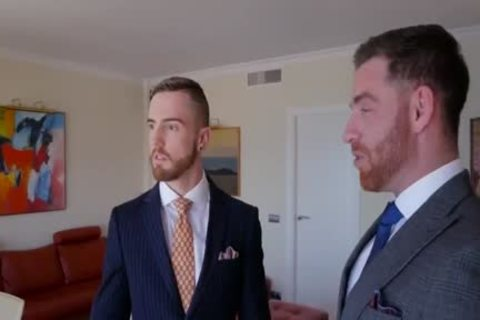 homosexual Suit suck job job And butthole