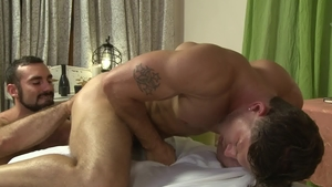 IconMale: Athletic Roman Todd ass fucking rimjob
