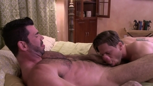 IconMale - Muscled Roman Todd pounded by nice big dick daddy