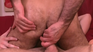 IconMale.com: Hairy Calvin Banks with Adam Russo ass fucking