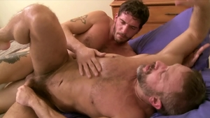 Icon Male: Huge dick Ty Roderick blowjob cum