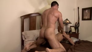 IconMale - Nick Capra in company with Alex Greene rimjob
