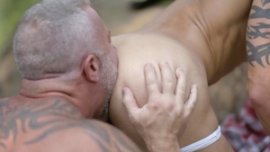 IconMale - Lance Charger escorted by Casey Everett outdoors
