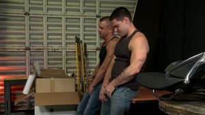 Men Over 30: Gay Sean Duran with Darin Silvers fucked anal
