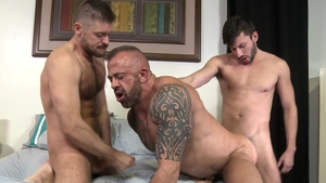 Men Over 30: Gay Scott DeMarco masturbation porn