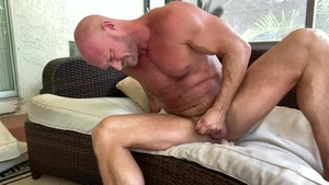 Men Over 30: Bald Killian Knox goes in for hard ramming