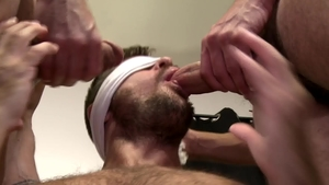 PrideStudios: Muscle Scott DeMarco condom getting facial