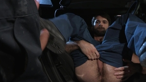 Hot House - Tegan Zayne as well as Sean Zevran in the car